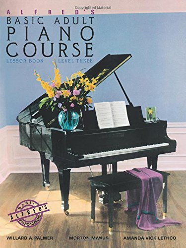 Willard A. Palmer Alfred's Basic Adult Piano Course Lesson Book Bk