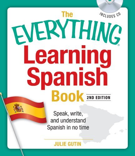 Julie Gutin Everything Learning Spanish Book The Speak Write And Understand Basic Spanish In No 0002 Edition;updated