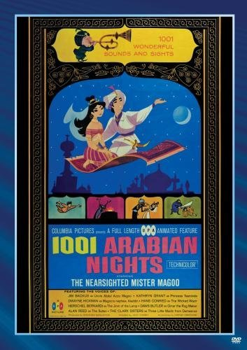 Mr. Magoo 1001 Arabian Nights 1001 Arabian Nights DVD Mod This Item Is Made On Demand Could Take 2 3 Weeks For Delivery