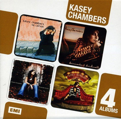Kasey Chambers 4 Albums Box Set The Captain Import Aus 4 CD