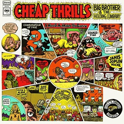 Janis Joplin Cheap Thrills Import Eu 180gm Vinyl