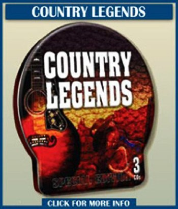 Country Legends Country Legends 3 Cds