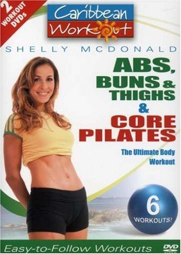 Caribbean Workout Abs Buns & Thighs Core Pilates Nr 2 DVD