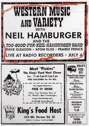 Western Music & Variety Hamburger Neil