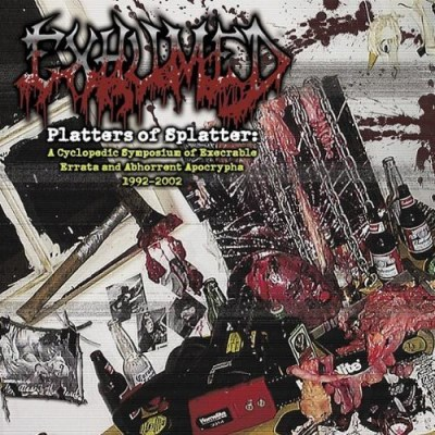 Exhumed Platters Of Splatter Explicit Version 2 CD Set