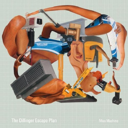 Dillinger Escape Plan Miss Machine (coke Bottle Green Vinyl)
