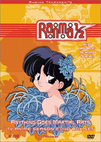 Ranma 1 2 Anything Goes Martia Tv Season 2 Box Set Clr St Jpn Lng Eng Dub Sub Nr 2 DVD