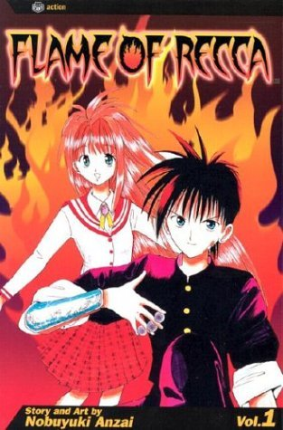 Nobuyuki Anzai Flame Of Recca Vol. 1
