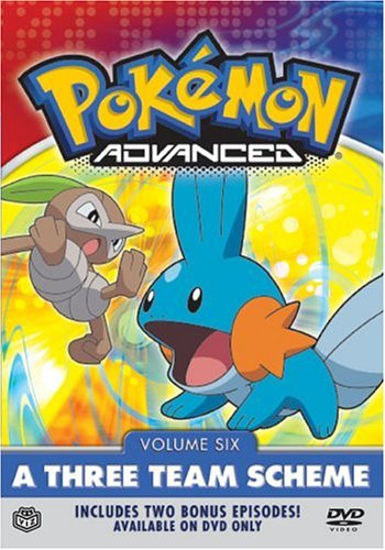Pokemon Advanced Vol. 6 Three Team Scheme Clr Nr