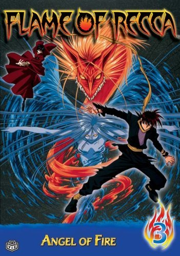 Flame Of Recca Vol. 3 Angel Of Fire Clr Jpn Lng Eng Dub Sub Nr