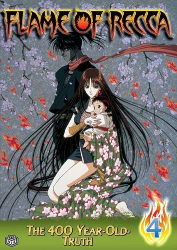 Flame Of Recca Vol. 4 400 Year Old Truth Clr Nr