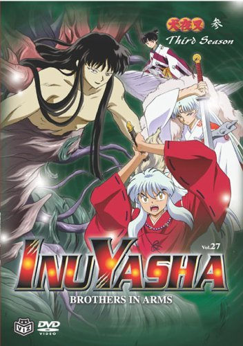 Inuyasha Vol. 27 Brothers In Arms Clr Jpn Lng Eng Sub Nr