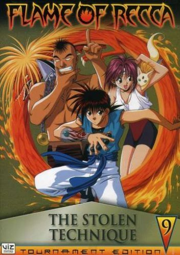 Flame Of Recca Vol. 9 Stolen Technique Clr Nr