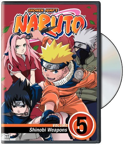 Vol. 5 Shinobi Weapons Naruto Clr Nr