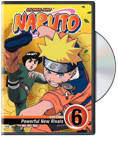 Vol. 6 Powerful New Rivals Naruto Clr Nr