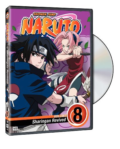 Vol. 8 Sharingan Revived Naruto Nr