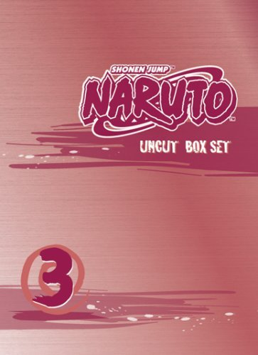Vol. 3 Box Set Naruto Clr Special Ed. Nr Uncut 3 DVD