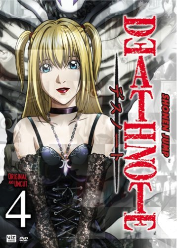 Vol. 4 Death Note Jpn Lng Eng Dub Sub Nr