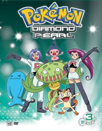 Diamond & Pearl Box Set 3 Pokemon Nr 2 DVD