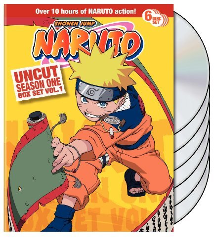 Vol. 1 Season 1 Naruto Uncut Nr 6 DVD