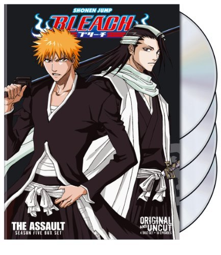 Box Set 5 Bleach Uncut Jpn Lng Eng Sub Nr 4 DVD