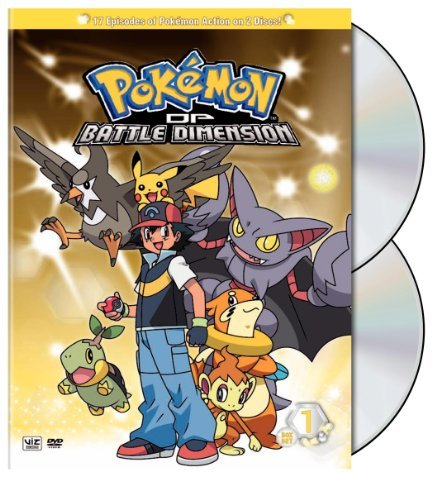 Vol. 1 2 Pokemon Diamond & Pearl Battl Nr 2 DVD