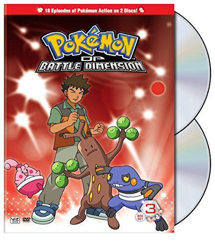 Box 3 Pokemon Diamond & Pearl Battl Nr 2 DVD