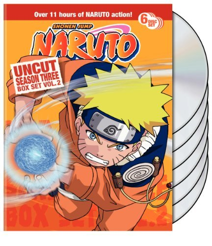 Vol. 2 Season 3 Naruto Uncut Nr 6 DVD
