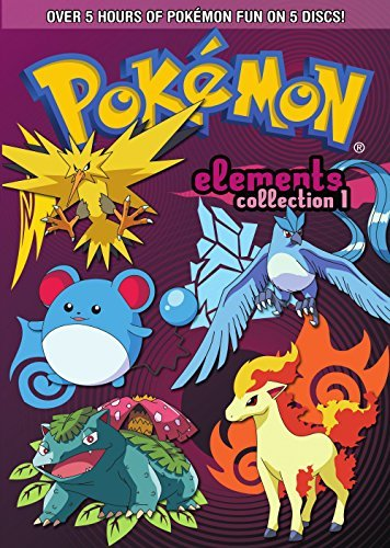 Pokemon Elements Collection P Pokemon Elements Nr 5 DVD