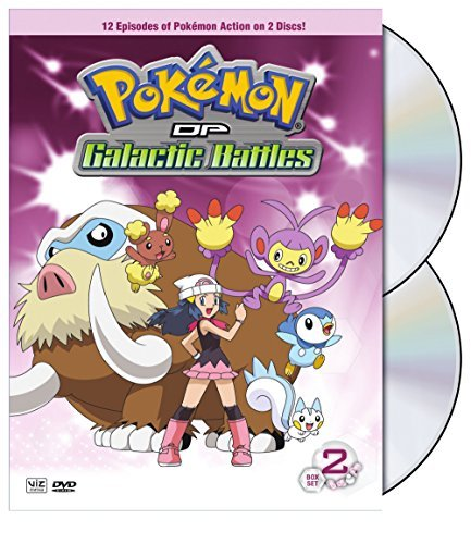 Vol. 2 Pokemon Diamond & Pearl Galaci Nr 2 DVD
