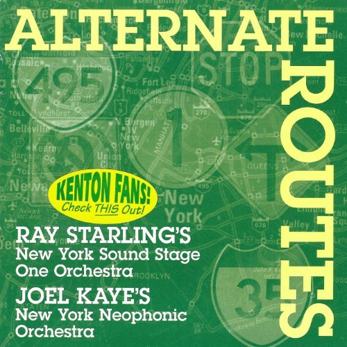 Kenton Starling Kaye Alternate Routes 2 CD