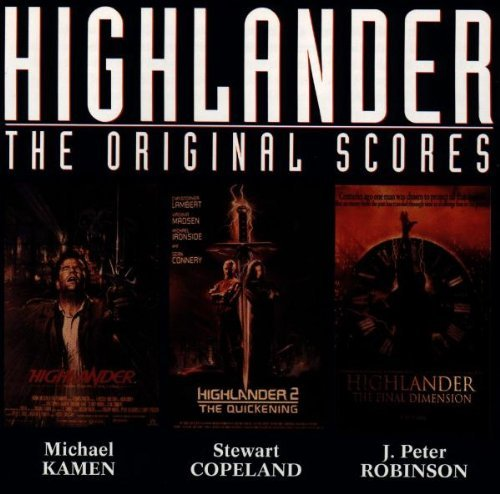 Highlander Iii Final Dimension Score Robinson Kamen Copeland Music From Highlander I & Ii