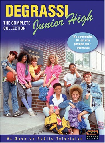 Degrassi Junior High Complete Series DVD