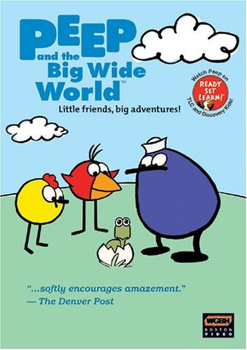 Peep Finds Peep Floats Peep's Peep & The Big Wide World 3pak Nr 3 DVD