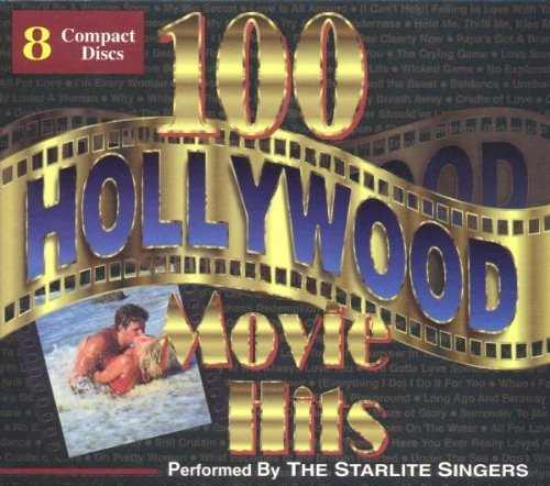 Starlite Orchestra 100 Hollywood Movie Hits 8 CD Set