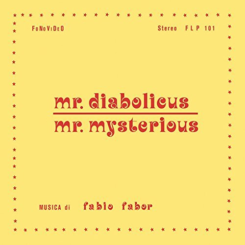 Mr. Diabolicus Mr. Mysterious Soundtrack Fabio Fabor Lp CD