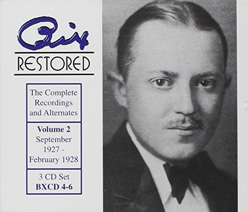 Bix Beiderbecke Bix Restored Vol 2