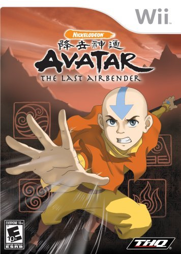 Wii Avatar The Last Airbender Thq