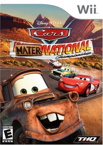 Wii Cars Mater National