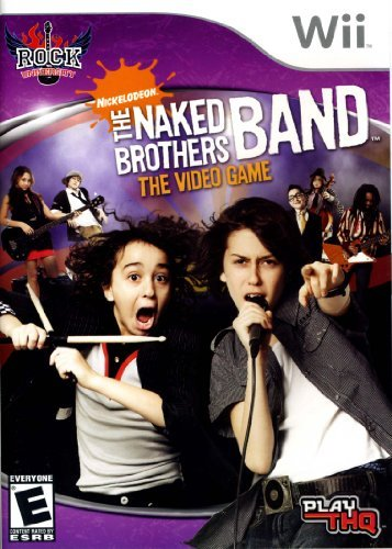 Wii Thq Naked Brothers Band Rock University