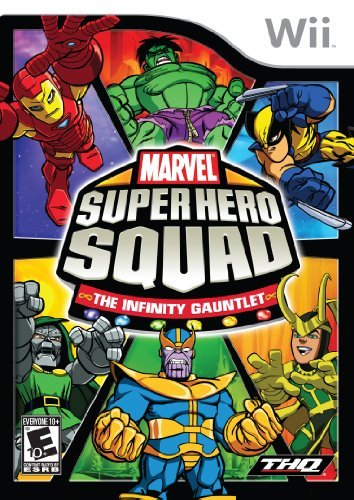 Wii Marvel Super Hero Squad The Infinity Gauntlet