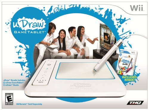Wii Udraw Game Tablet With Udraw Studio
