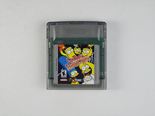 Gameboy Color The Simpsons Night Of The Living Treehouse Of Horror E