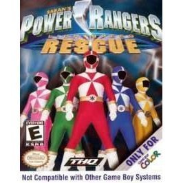 Gameboy Color Power Rangers Lightspeed Rescue E