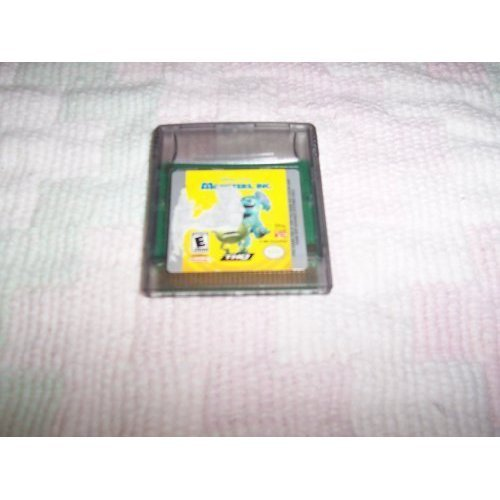 Gameboy Color Monsters Inc E
