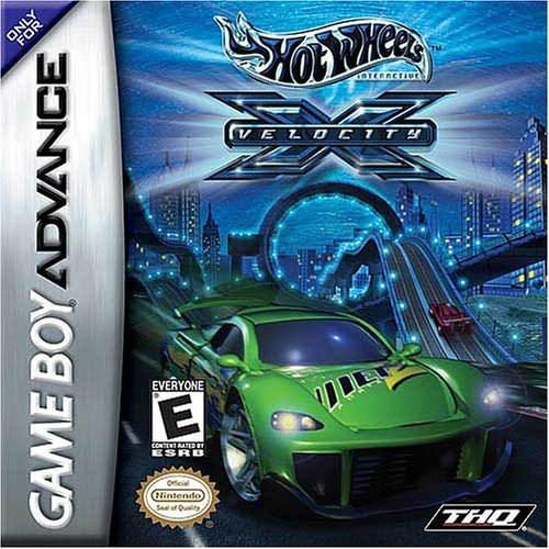 Gba Hot Wheels Velocity X
