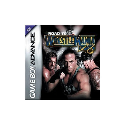 Gba Wwe Road To Wrestlemani X8