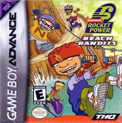 Gba Rocket Power Beach Bandits