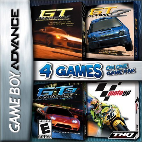 Gba Racing 4 Pack