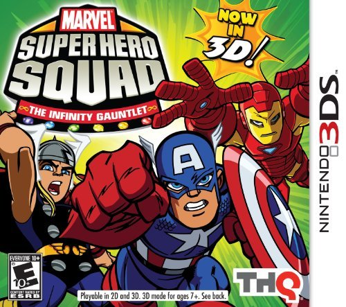 Nintendo 3ds Marvel Super Hero Squad The Infinity Of The